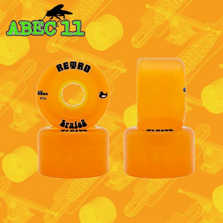 Abec 11 Erniez 65mm Ruote Longboard