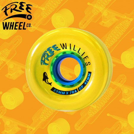 Free Wheels Free Willies V2 69mm Ruote Longboard