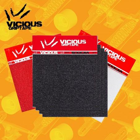 Vicious 4 Sheets Pack Grip Adesivo da Longboard