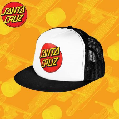Santa Cruz Classic Dot Trucker Mesh