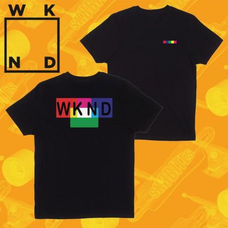 WKND Logo Black Tee