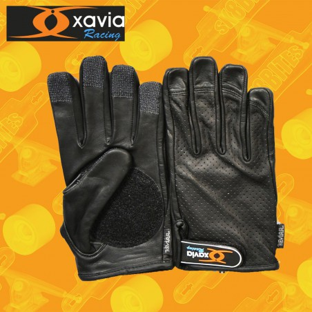 Xavia Breathable Gloves Black Guanti Longboard