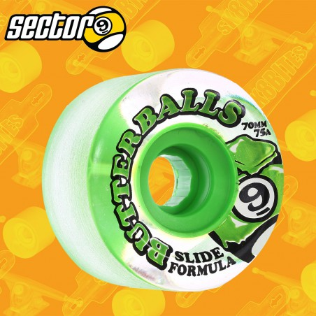 Sector 9 Butterballs 75a Clear