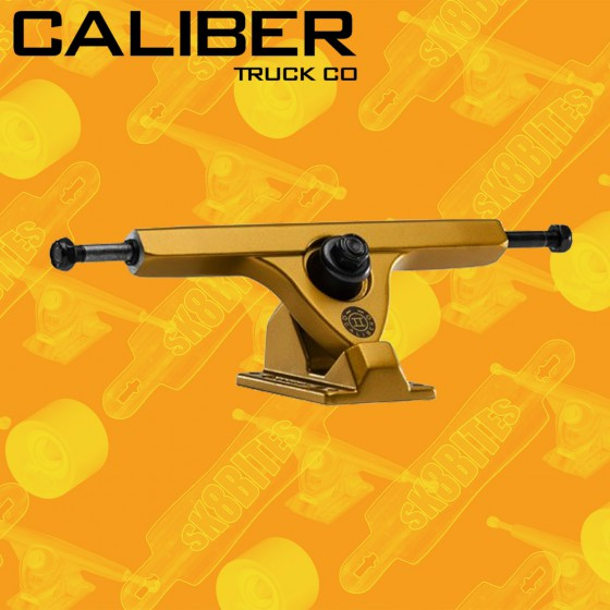 Caliber II Satin Gold 50° Trucks