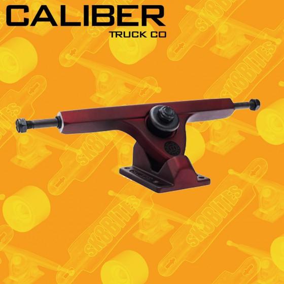 Caliber II Midnight Satin Red 44/50° Trucks