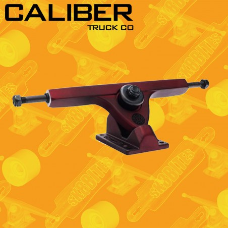 Caliber II Midnight Satin Red 44° Attacchi Longboard Freeride Trucks