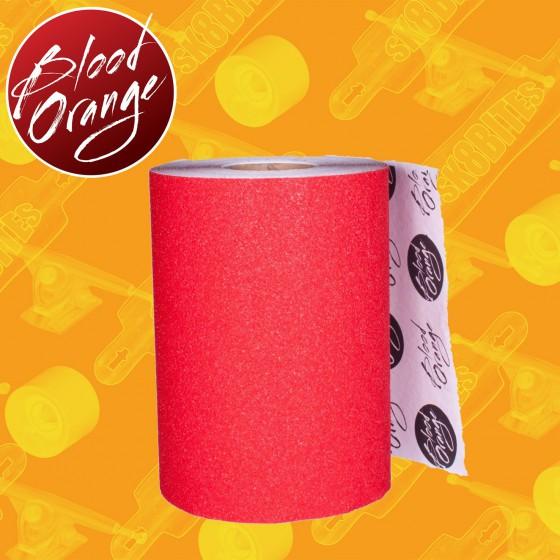 "Blood Orange Grip 11"" Red 10cm Griptape"