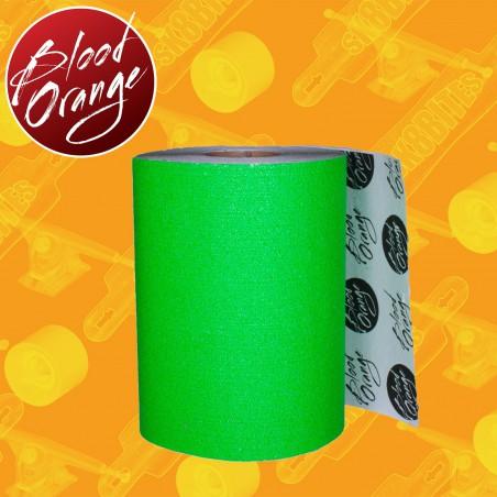 "Blood Orange Grip 11"" Green 10cm Griptape Adesivo Longboard"
