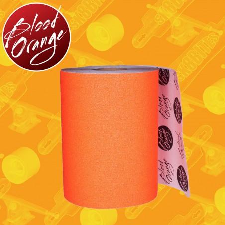 "Blood Orange Grip 11"" Orange 10cm Griptape Adesivo Longboard"