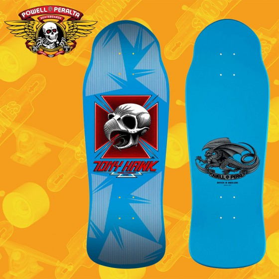 Tony Hawk LTD BlueTavola Skateboard Oldschool