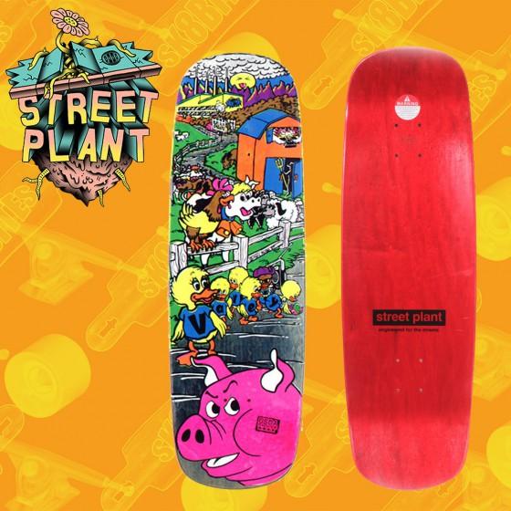 "Street Plant Barnyard 9,5"" Tavola Skateboard Street Pool"
