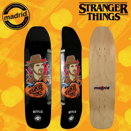 "Madrid x Stranger Things Hopper 8,8"" Tavola Skateboard Street Pool"