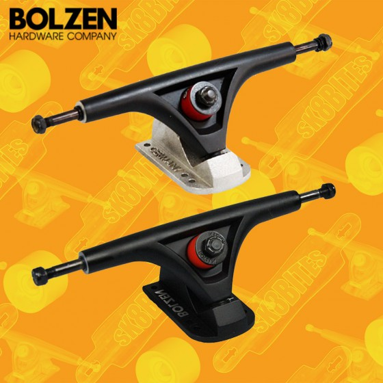 Bolzen Trucks 180mm 45° Attacchi Longboard Freeride Trucks