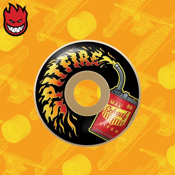 Spitfire Formula Four Schaaf Lifers 99D 54mm Ruote Skateboard Street