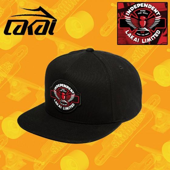 Lakai Indy Snapback Hat Street Skate Unisex