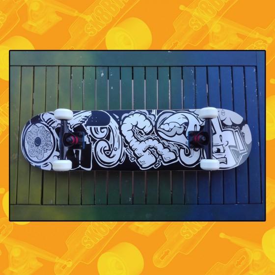 """Vault 8"""" Tavola Completa Skateboard Street"""