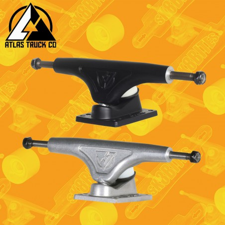 Atlas TKP 149mm Raw Attacchi Longboard Skateboard Trucks