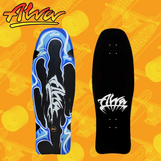 "Alva Aggression Fish Re-Issue 32"" Tavola Skateboard Oldschool"