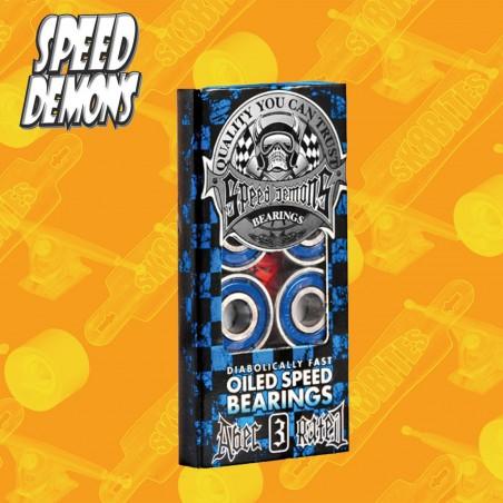 Speed Demons Bearings Cuscinetti Skateboard Street