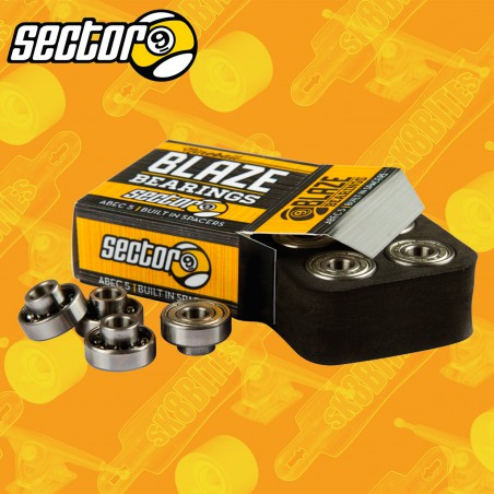 Sector 9 Blaze Built in Longboard Freeride Bearings