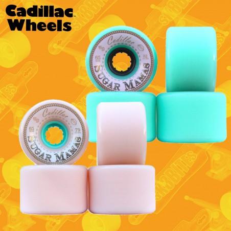 Cadillac Sugar Mama 65mm Ruote Longboard Freeride Slide