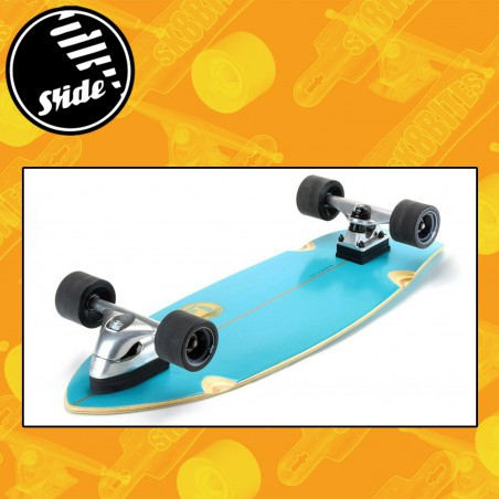 """Slide Surfskate Diamond Belharra 32"""" Tavola Longboard Surfskate"""
