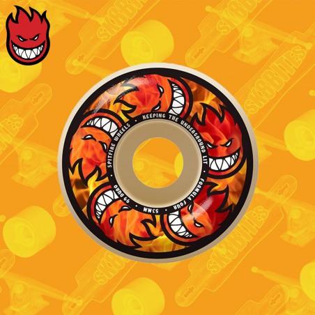 Spitfire Hellfire Multiballs 99D Ruote Skateboard Street