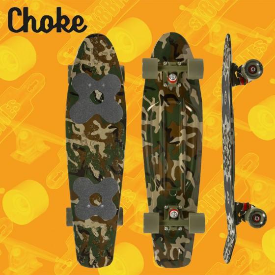 "Choke Big Jim 28"" Tavola Completa Cruiser Carving"