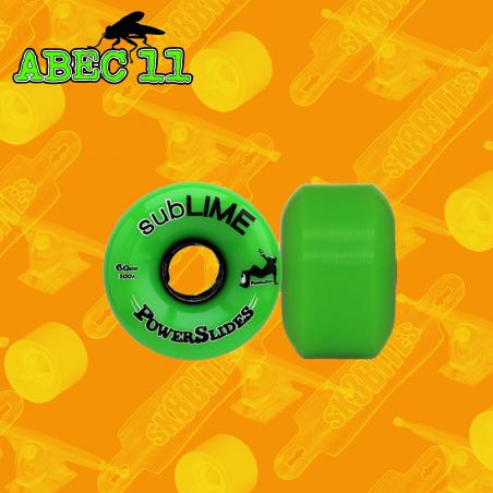 Abec 11 subLIME PowerSlides Ruote Skateboard