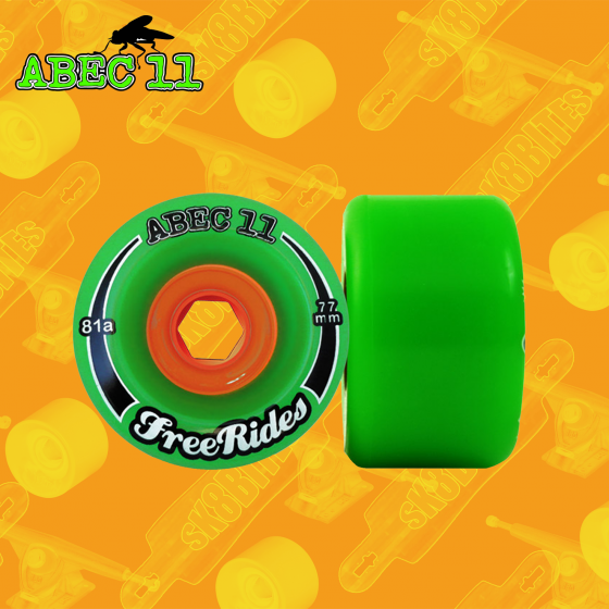 Abec 11 Freeride Off Set 66mm Ruote Longboard Freeride Slide