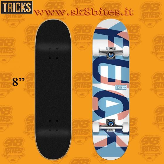 "Tricks Yeah 8.0"" Complete Street Skateboard Deck"