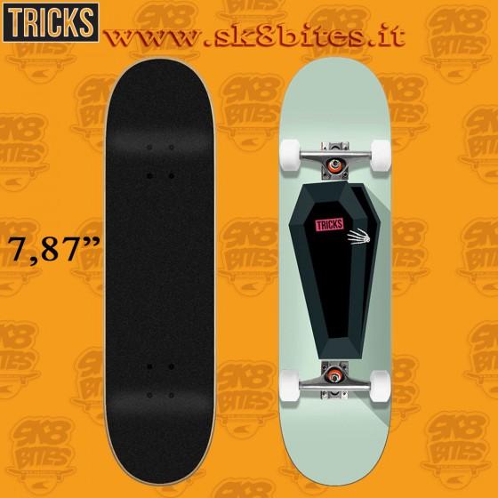 """Tricks Skeleton 7.87"""" Complete Street Skateboard Deck"""