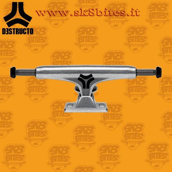 "Destructo D1 Raw Low 5"" Street Skateboard Trucks"