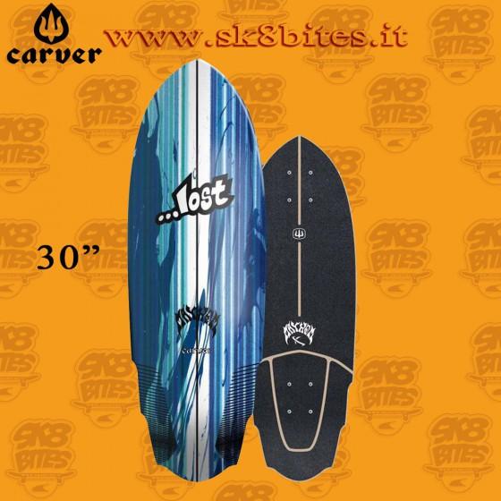 """Carver Lost V3 Rocket C7 30"""" Surfskate Carving Deck"""