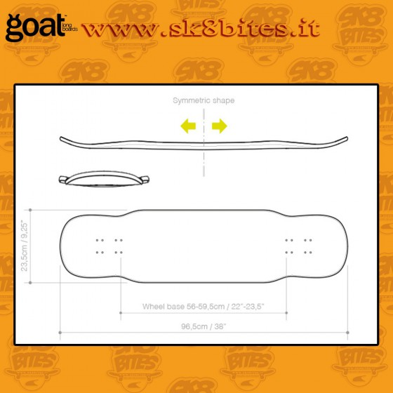 Goat Longboards Vortex 38