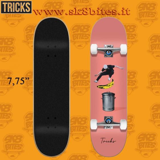 "Tricks Banana 7.75"" Complete Street Skateboard Deck"