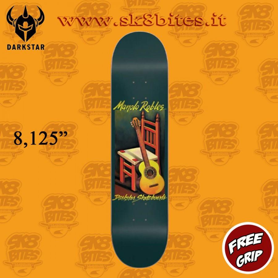 "Darkstar One Off Still Life R7 Manolo Robles 8.125"" Skateboard Street Deck"