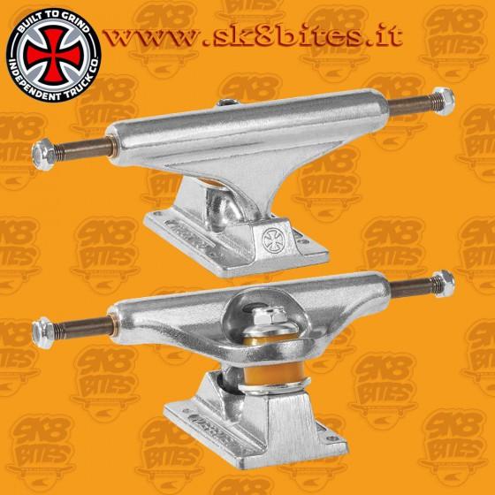 Independent Stage 11 Silver Standard 139mm Attacchi Skateboard Street Trucks