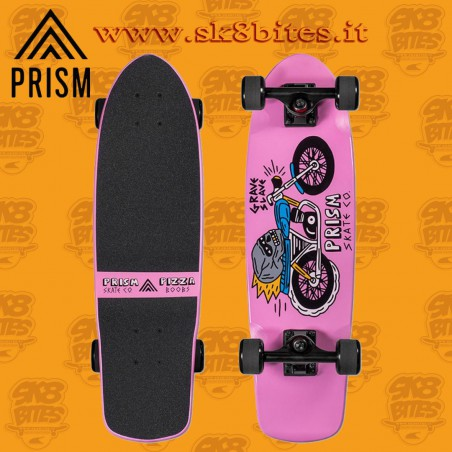 "Prism Biscuit Liam Ashurst 28"" X 8.25"" Complete Longboard Cruising Carving Deck"