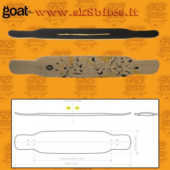Goat Longboards Uzume 47,25