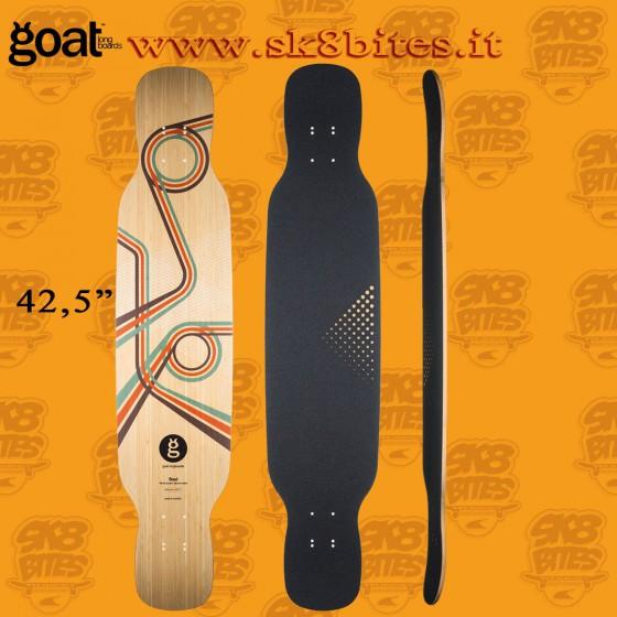 "Goat Soul 42,5"" Longboard Dancing Freestyle Cruising Deck"