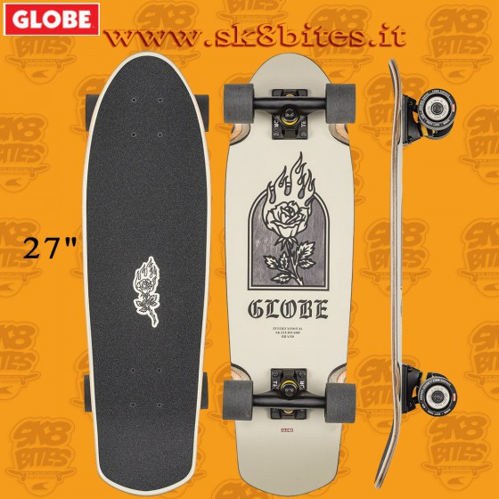 "Globe Trooper Natives 27"" Complete Longboard Cruising Carving Deck"