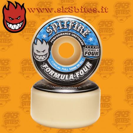 Spitfire Formula Four Conical Full 99a 54mm  Skateboard Street Pool Wheels