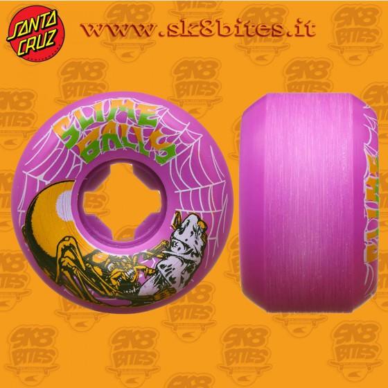 Santa Cruz Slime Balls Web Speed 54mm  99a  Skateboard Street Pool Cruising Wheels