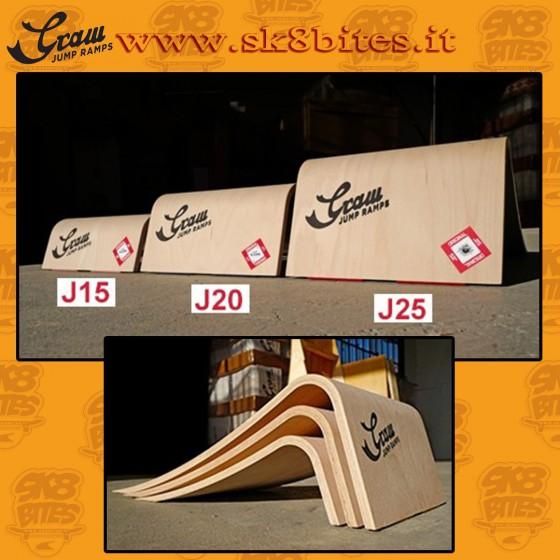 GRAW JUMP J25 Skateboard Street Ramp Skatepark
