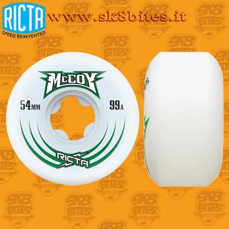 Ricta Maurio McCoy Pro Slim 99A 54mm Skateboard Street Wheels