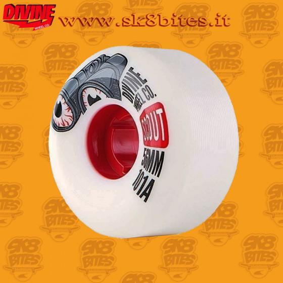 Divine Scout 56mm 101a Skateboard Street Pool Wheels