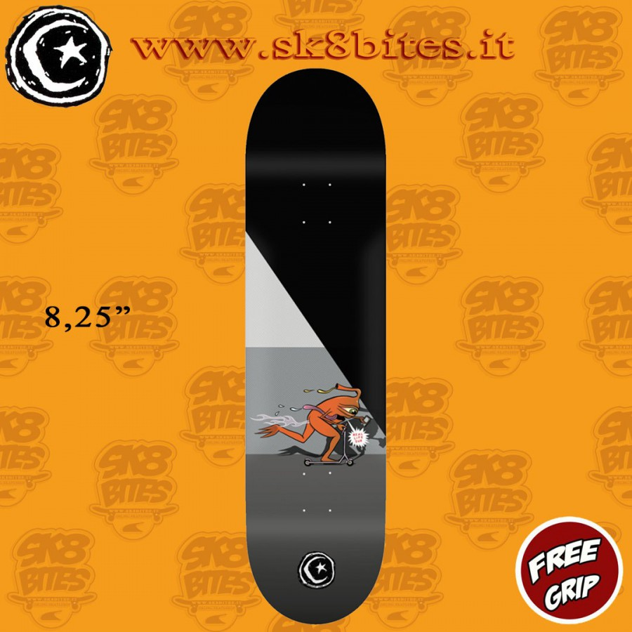 "Foundation Pro Templeton Push 8,25"" Skateboard Street Pool Deck"
