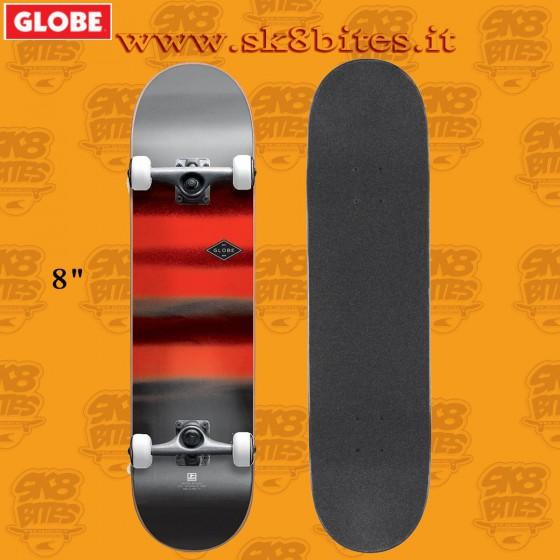 Globe G1 Full On Charcoal/Chromantic 8″ Complete Skateboard Street Pool Deck