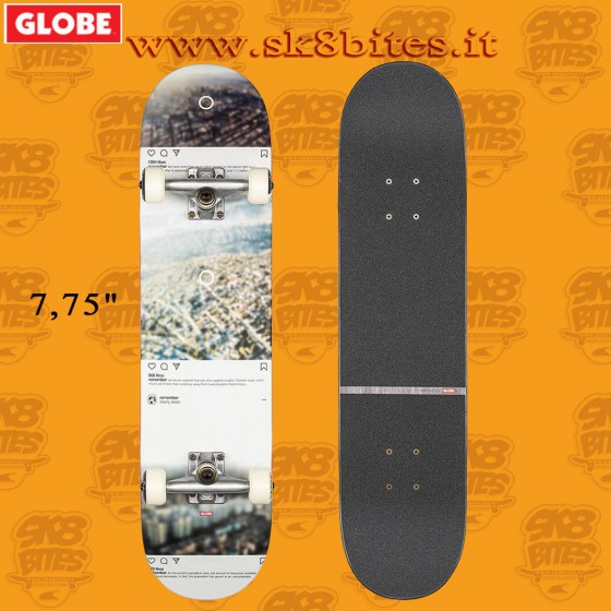 Globe G2 Sprawl Metropolypse 7,75″ Complete Skateboard Street Pool Deck